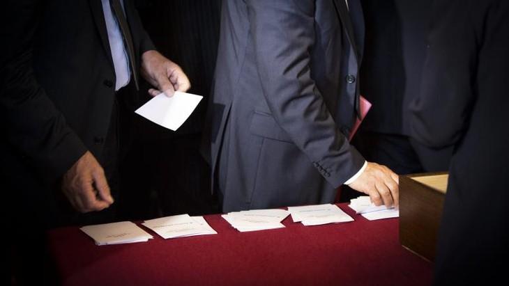 Sénatoriales : les grands électeurs aux urnes pour renouveler la moitié de la Haute Assemblée - ảnh 1