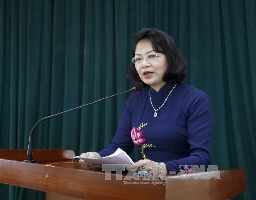 La vice-présidente Dang Thi Ngoc Thinh en Finlande - ảnh 1