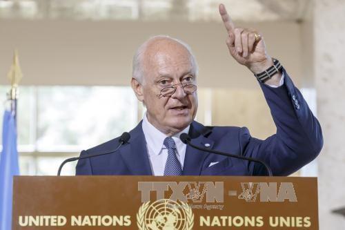 L'émissaire de l'ONU Mistura à Moscou pour stabiliser le processus de paix en Syrie - ảnh 1