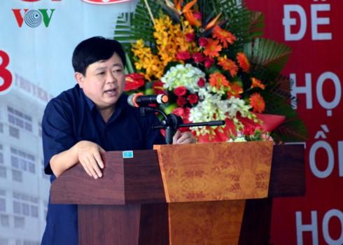 Nguyen The Ky à la rentrée scolaire de l'Ecole de la radio et de la Télévision II - ảnh 1