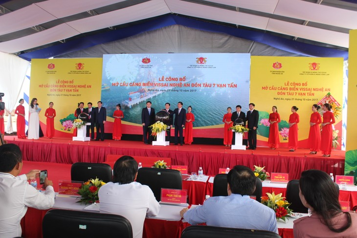 Inauguration d'un nouveau port international à Nghe An - ảnh 1