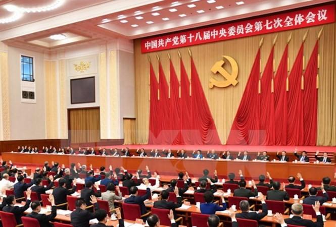 Clôture du 19ème congrès national du PCC - ảnh 1