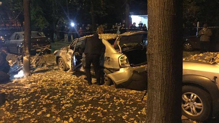 Ukraine: explosion à Kiev, un mort et trois blessés  - ảnh 1