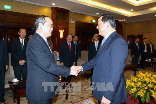 HCM-ville s'efforce de dynamiser sa coopération avec les localités laotiennes - ảnh 1
