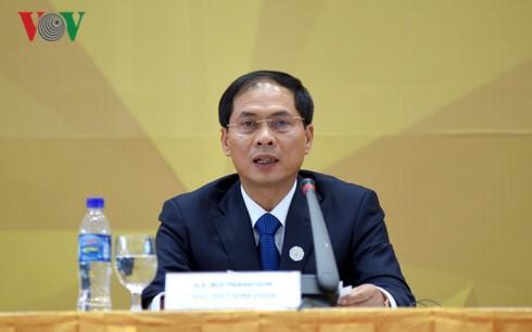 Clôture de la conférence-bilan des hauts officiels de l'APEC - ảnh 1
