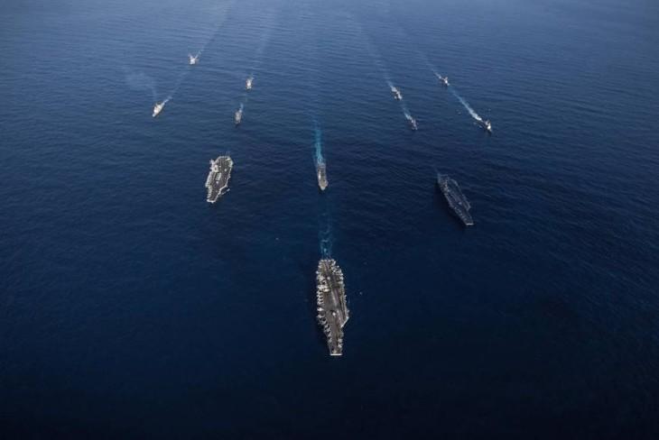 USA/Japon/République de Corée: exercices conjoints de détection de missiles - ảnh 1