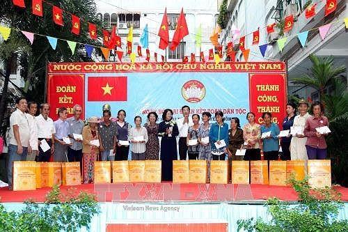 La fête de grande union nationale célébrée dans le pays - ảnh 1