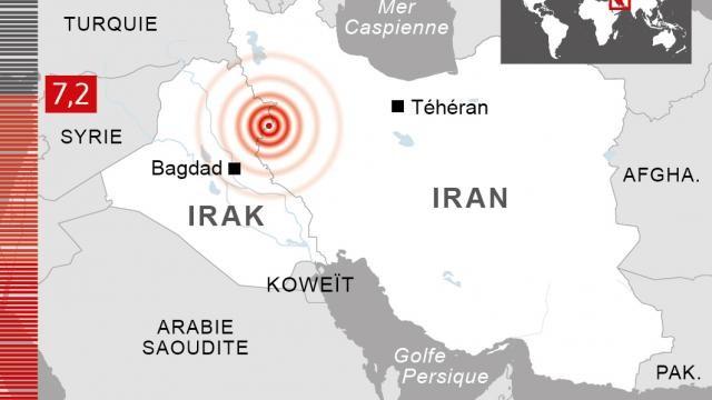 Séisme de magnitude 7,3 à la frontière Iran-Irak: au moins 36 morts - ảnh 1