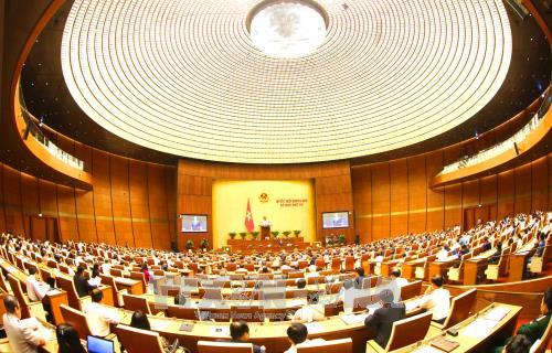 Les électeurs apprécient la première journée de questions-réponses à l'Assemblée nationale - ảnh 1