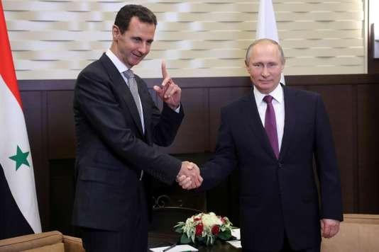 Lutte contre le terrorisme : Vladimir Poutine « félicite » le président syrien Bachar Al-Assad - ảnh 1