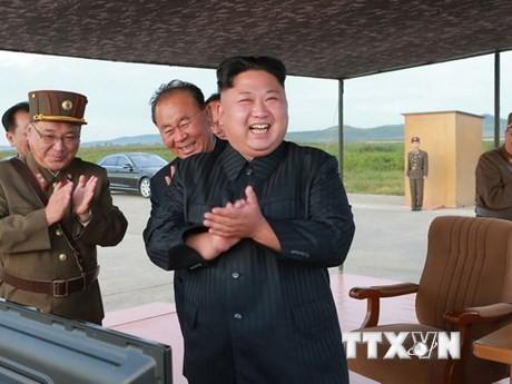 Kim Jong-un : les sanctions «rendent l'esprit des travailleurs nord-coréens encore plus fort» - ảnh 1