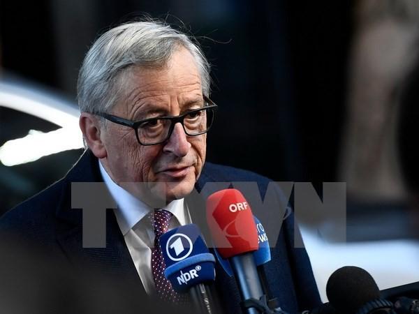 L'UE confirme une rencontre entre May et Juncker le 4 décembre - ảnh 1