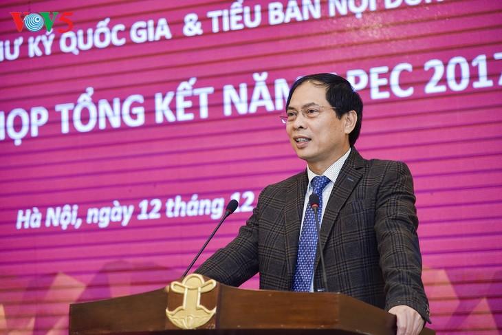 Valoriser les acquis de l'année de l'APEC 2017 - ảnh 1