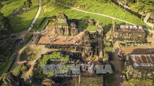Des scientifiques indiens aident le Vietnam à restaurer le patrimoine culturel mondial de My Son - ảnh 1