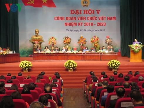Congrès du syndicat des employés d'Etat du Vietnam - ảnh 1