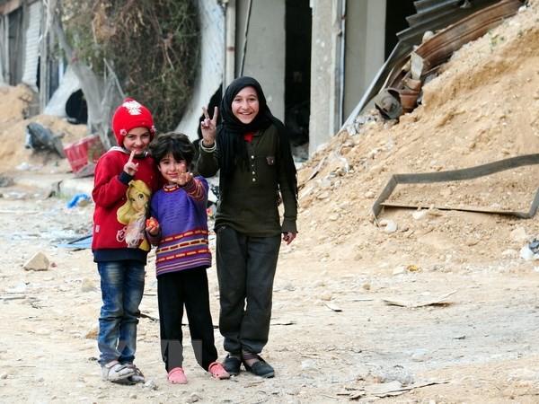 Syrie: Plus de 40.000 personnes ont regagné la Ghouta - ảnh 1
