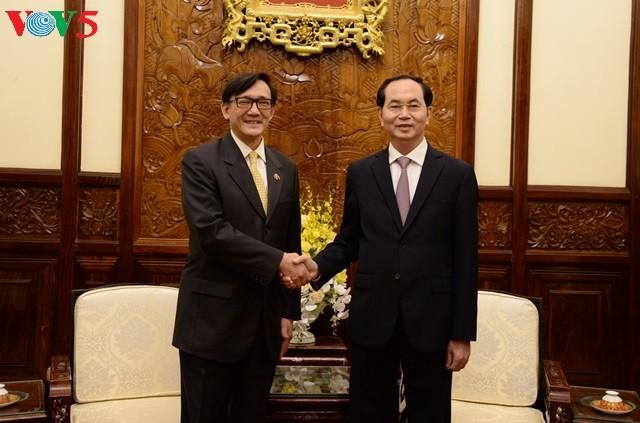 L'ambassadeur thaïlandais reçu par Trân Dai Quang - ảnh 1