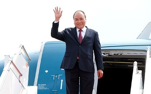 Nguyên Xuân Phuc est arrivé au Cambodge - ảnh 1