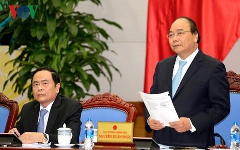 Nguyên Xuân Phuc travaille avec le Front de la Patrie du Vietnam - ảnh 1