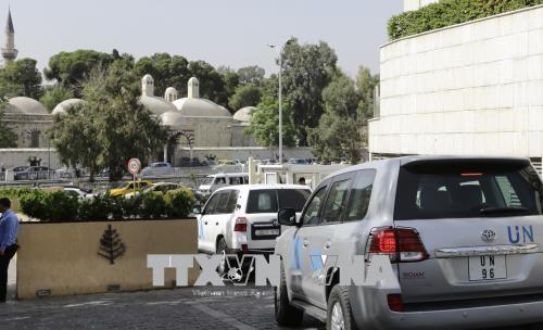 Syrie : pris pour cible, les experts de l' OIAC ne peuvent se rendre à Douma - ảnh 1
