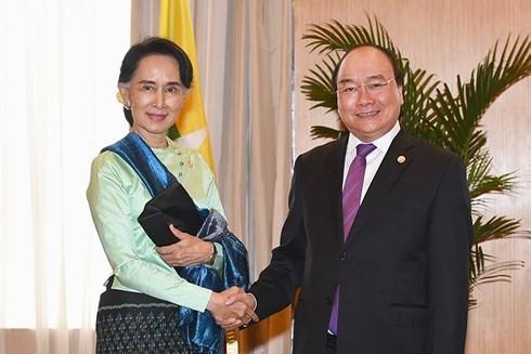 Vietnam-Myanmar: renforcement du partenariat stratégique - ảnh 1