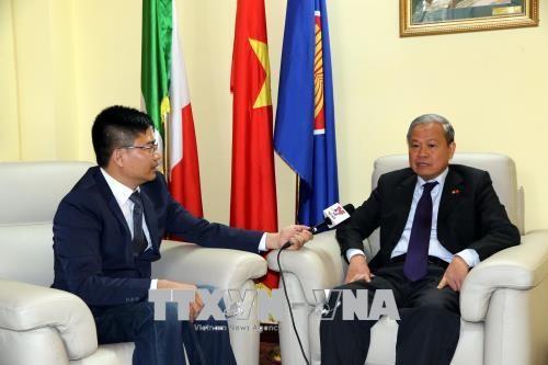 Vers une coopération décentralisée accrue entre le Vietnam et l'Italie - ảnh 1
