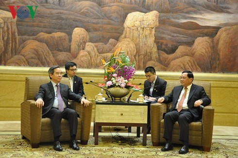 Nguyên Van Binh rencontre le secrétaire du comité du Parti communiste chinois pour Shanghai - ảnh 1