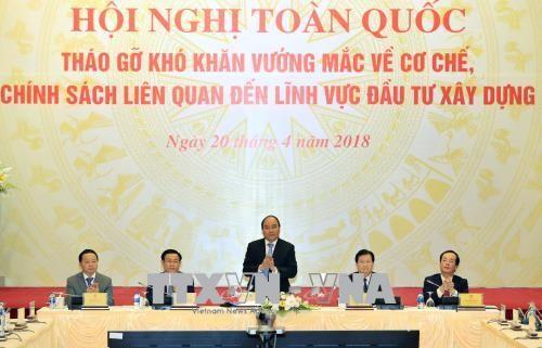Nguyên Xuân Phuc propose son aide au secteur de la construction - ảnh 1