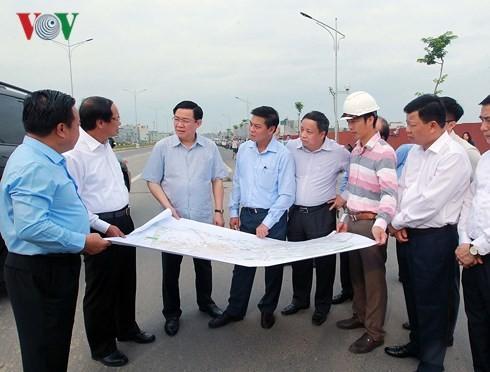 Vuong Dinh Huê en visite à Hai Phong - ảnh 1