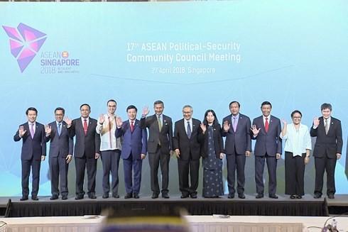 Réunions du Conseil de politique et de sécurité et du Conseil de coordination de l'ASEAN - ảnh 1