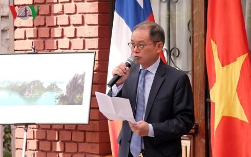 Célébration du 43e anniversaire de la réunification vietnamienne au Chili et en Russie - ảnh 1