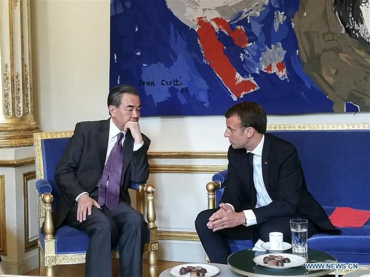 Macron souligne le rôle de premier plan du partenariat France-Chine - ảnh 1
