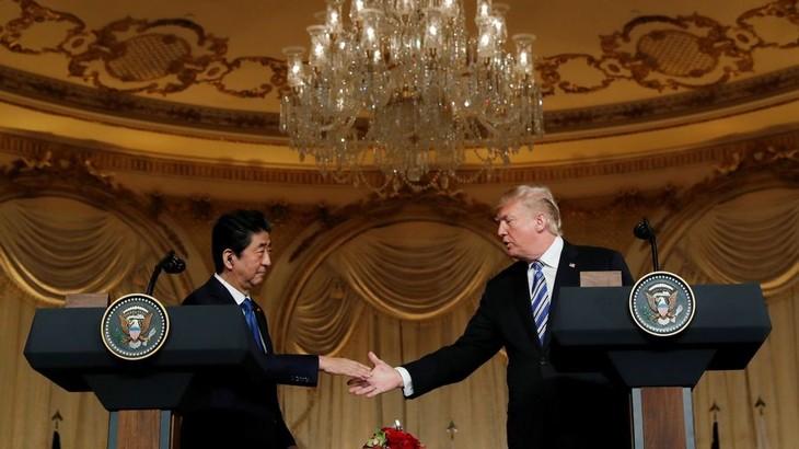 Donald Trump rencontrera le Japonais Shinzo Abe avant Kim Jong-un - ảnh 1