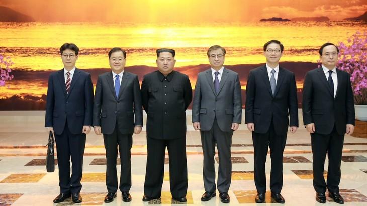 Pyongyang demande à Séoul d'abandonner la coopération sur le renseignement avec le Japon - ảnh 1