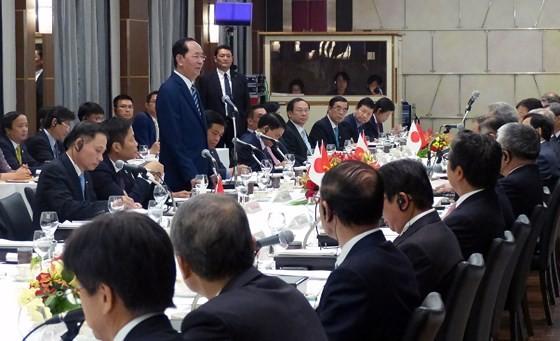 Trân Dai Quang: le Vietnam salue la coopération de Keidanren - ảnh 1