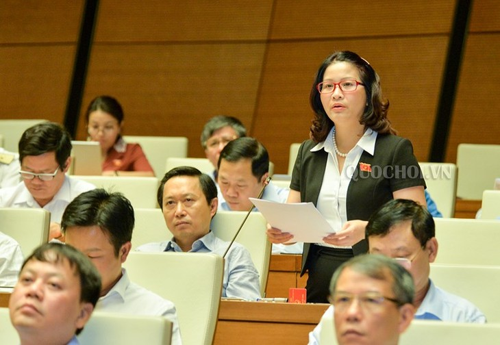 Le projet d'amendement de la loi sur l'enseignement supérieur en débat - ảnh 2