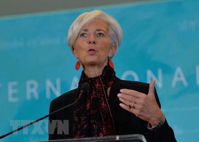 """Il n'y a """"pas de vainqueur"""" dans une guerre commerciale, prévient Christine Lagarde - ảnh 1"""