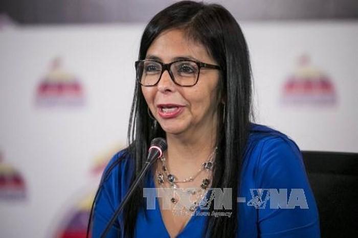Crise au Venezuela: l'UE ajoute 11 dignitaires du régime Maduro sur sa liste noire  - ảnh 1