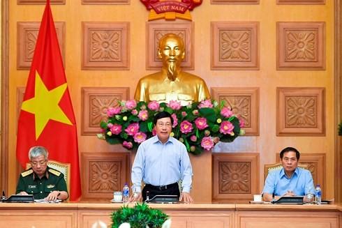 Pham Binh Minh à la réunion du comité de pilotage sur l'intégration internationale - ảnh 1