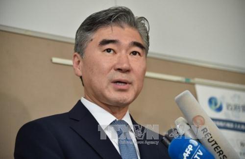 Un émissaire US à la frontière entre les deux Corées - ảnh 1