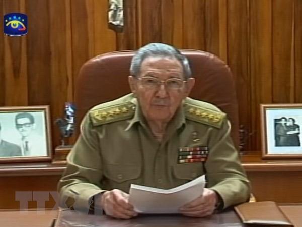 Kim Jong-un a envoyé un message à Raul Castro - ảnh 1