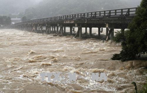 Japon: des pluies diluviennes font au moins 48 morts  - ảnh 1
