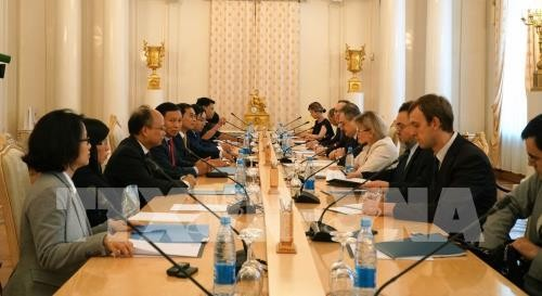 Le Vietnam et la Russie tiennent leur 10e dialogue stratégique - ảnh 1