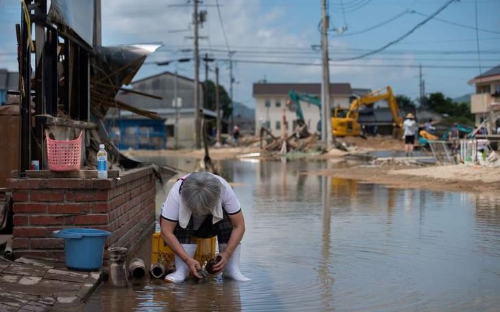 Inondations au Japon : 156 morts et plusieurs dizaines de disparus - ảnh 1