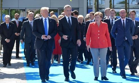 Bruxelles: ouverture du sommet de l'OTAN - ảnh 1