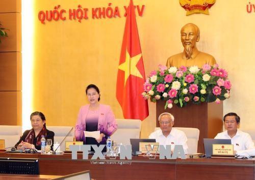 Clôture de la 25e session du comité permanent de l'Assemblée nationale - ảnh 1
