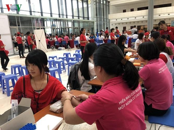 Fête du don sanguin à Hanoi - ảnh 1