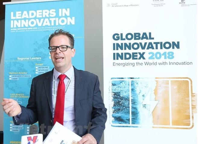 Indice mondial de l'innovation: le Vietnam progresse de deux places - ảnh 1