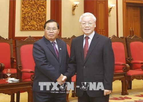 Dynamiser la coopération parlementaire Vietnam-Laos - ảnh 1