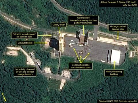La RPDC aurait commencé à démanteler un site de lancement de satellites - ảnh 1